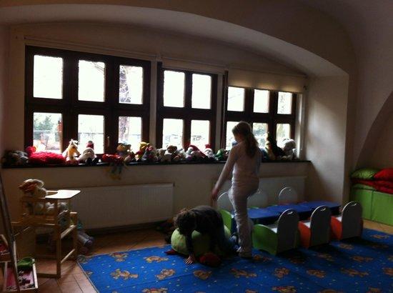 Zamek Kliczkow Centrum Konferencyjno-Wypoczynkowe: very nice kids playroom.