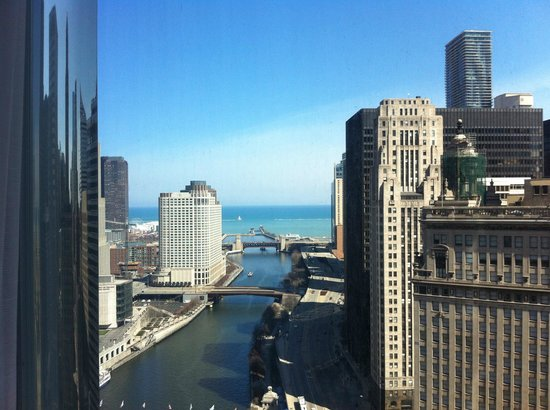 Trump International Hotel & Tower Chicago: The view