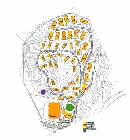 Vesterland Feriepark: Map of Vesterland