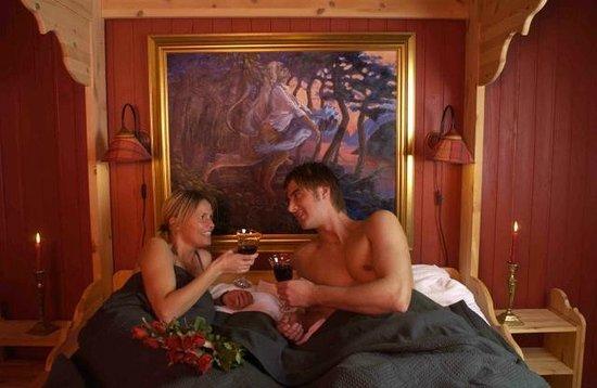 Vesterland Feriepark: Romantic cabin.