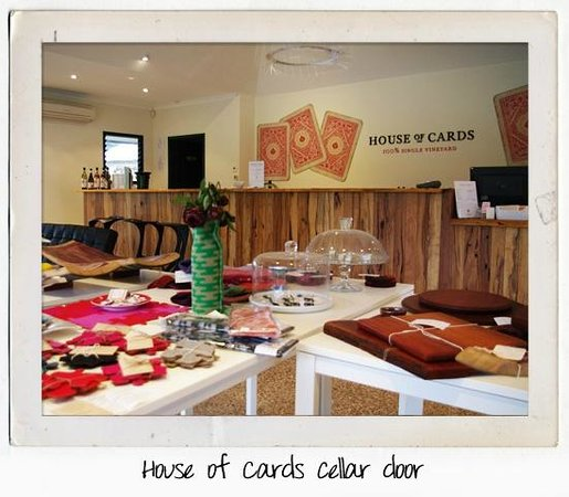 House of Cards Wines: Our cellar door