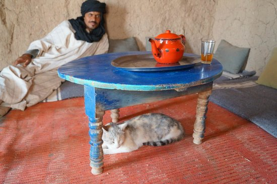 Guest House Merzouga: tea with nomad on 4x4 morning excursion
