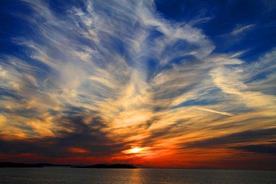 Adonis Hotel: Mykonos Sunsets