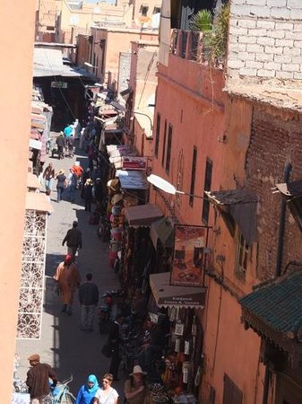 Riad Dar Anika: view from roof