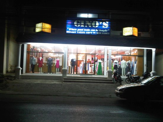 Ginos Tailor: Main Entrance