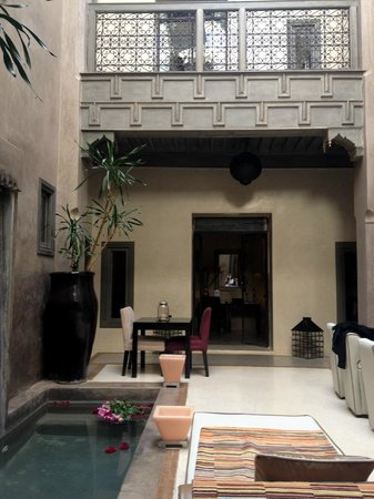 Riad Dar One: Ground Floor of the Riad