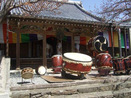 Mt. Yoshino: 花祭り 桜本坊
