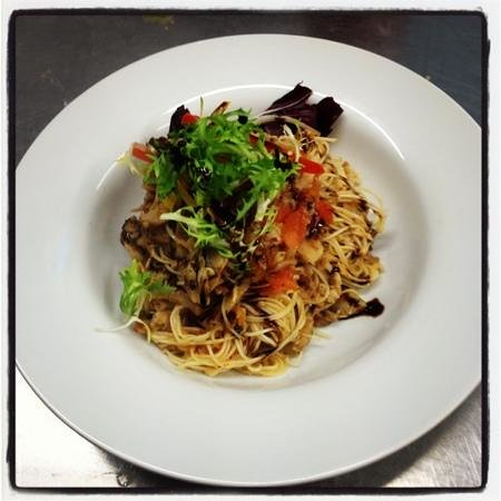 Whelans of Asselby: spicy pork noodles