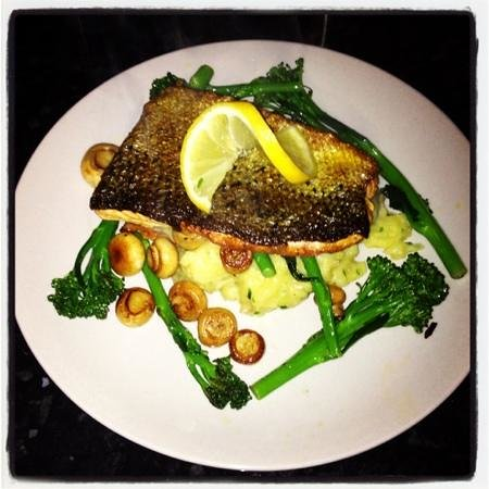 Whelans of Asselby: chefs speciality salmon