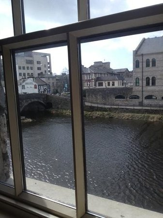 Riverside Hotel: Room with a view