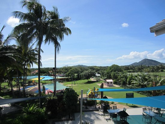 Paradise Palms Resort & Country Club: View from the restaurant