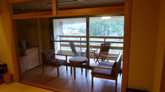 Wakatake no Sho  - Bettei Sasane : Balcony