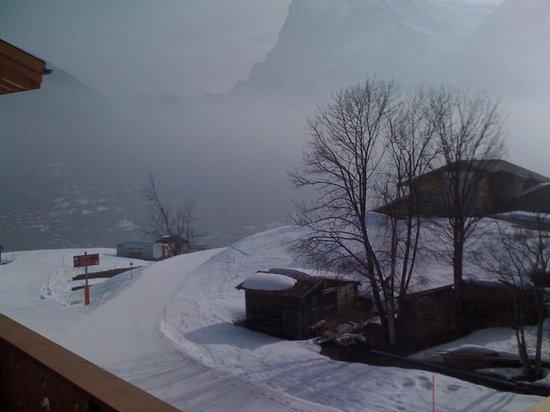 Aspen Alpin Lifestyle Hotel Grindelwald: Blick Rtg Grindelwand