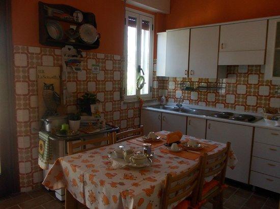 B&B La Sciguetta: colazione/breakfast/Fruhstuck