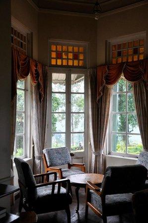 Upper Glencairn: View of tea plantations from living room
