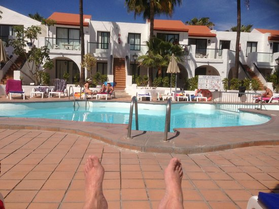Hotel Nido del Aguila: One of the pool areas