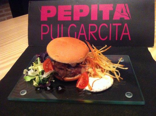 Pepita Pulgarcita: Hamburguesa Gourmet