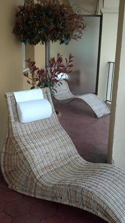 Grand Hotel Fasano: Room 204 has triple balcony
