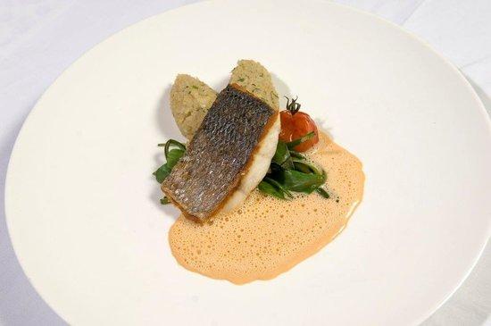 Graves Restaurant - Wijnbar : Skin fried cod filet