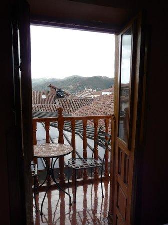 Los Apus Hotel & Mirador: Balcony