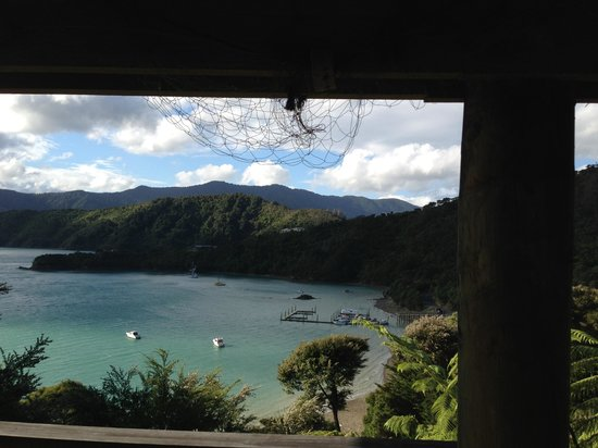 The Villa Backpackers Lodge: Amazing view!