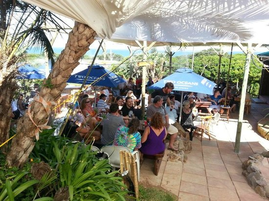 The Rock Music Bistro: Relax in the Sun!