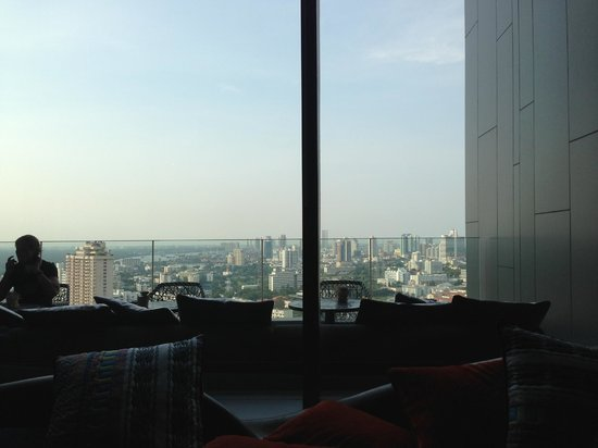 SO Sofitel Bangkok: View from executive lounge on the 27th floor