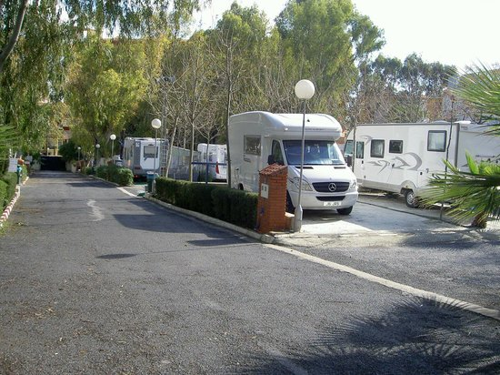 Camping Torremolinos : Camp area