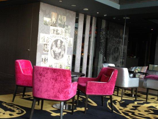 SO Sofitel Bangkok: Executive lounge designed by Christian Lacroix
