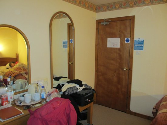 Garve Country Hotel: Our bedroom