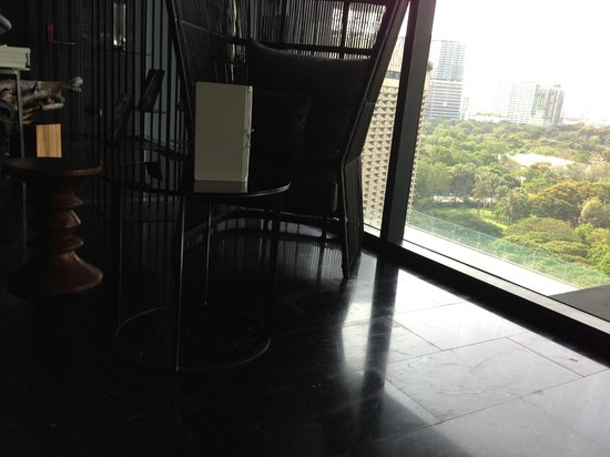 SO Sofitel Bangkok: view from spa