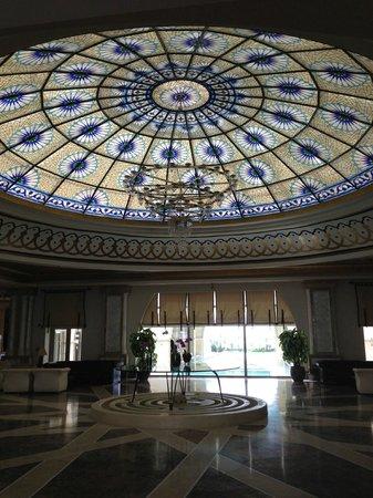 Kempinski Hotel The Dome: hotel foyer