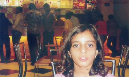 Gujranwala, Pakistan: my daughter