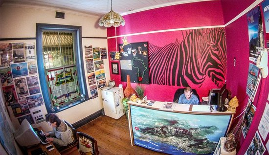African Heart Backpackers: Reception