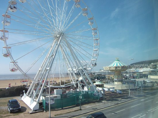 Premier Inn Weston-Super-Mare (Seafront) Hotel: View from our room