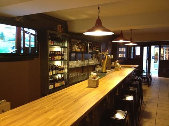 Bar La Sede de Baresautenticos.com: la barra
