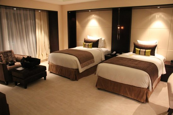 JW Marriott Marquis Hotel Dubai: Twin beds