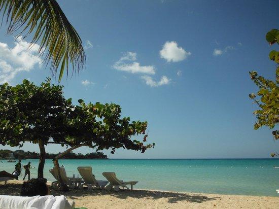 Couples Negril: Beach