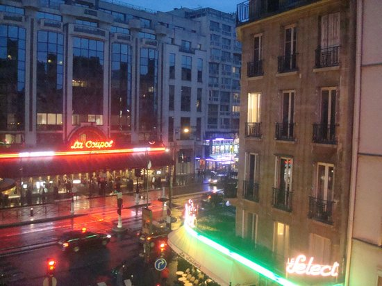 Atelier Saint-Germain: Our view from the balcony - looking toward Boulevard du Montparnasse