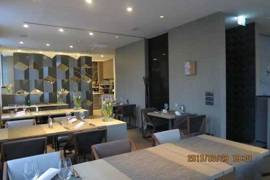 Hotel Cubo: Dining room