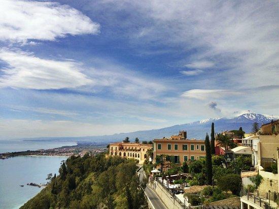 Sweet Home: Blick auf Etna vom Park