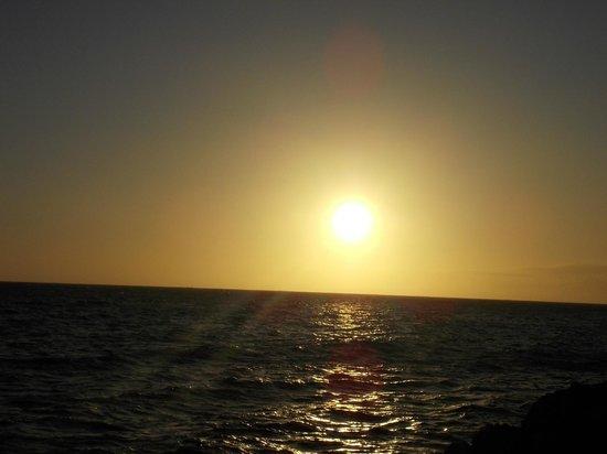 Sea Grape Villas: One of many beautiful sunsets