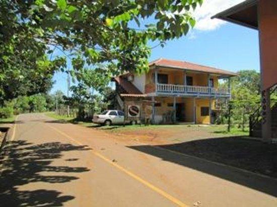 Santa catalina Inn view from road