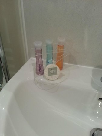 Kilnhall Guest House: Nice touch for shampoo etc