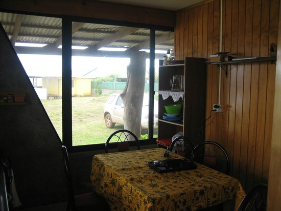 Hostal Tojika: View from kitchen to the sea
