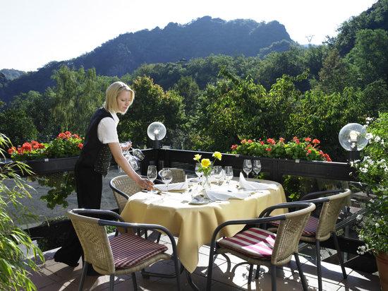Hotel Ruland : Restaurantterrasse
