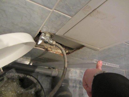 Gostinitsa 40 Let Pobedy: подключение сантехники