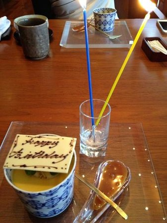 Kozue: birthday candles