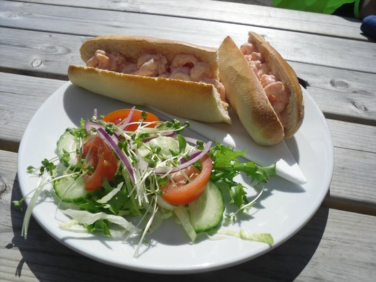 The Star Inn: My Favourite Baguette - Prawns.