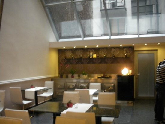Ambra Hotel: sala ristorazione